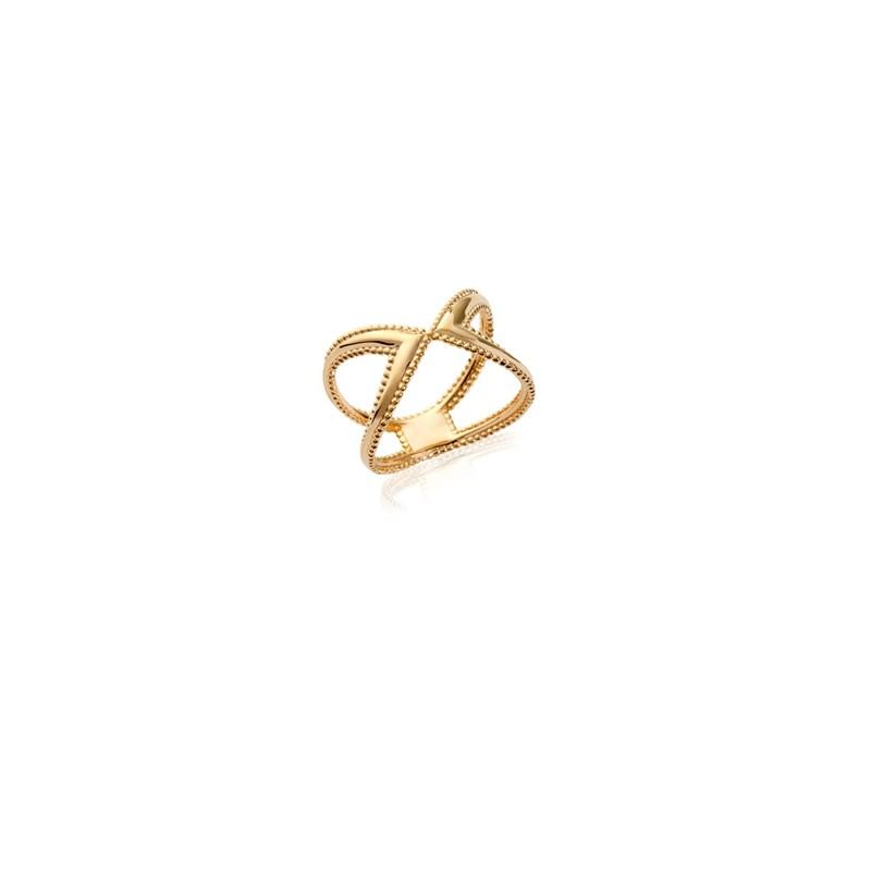 Δαχτυλίδι Brass Επίχρυσο 18Κ Oxford Street  227100
