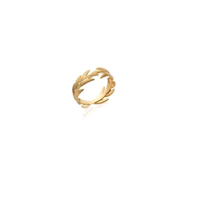 Δαχτυλίδι Brass Επίχρυσο 18Κ Oxford Street  227110