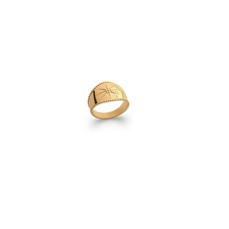 Δαχτυλίδι Brass Επίχρυσο 18Κ Oxford Street 227300060