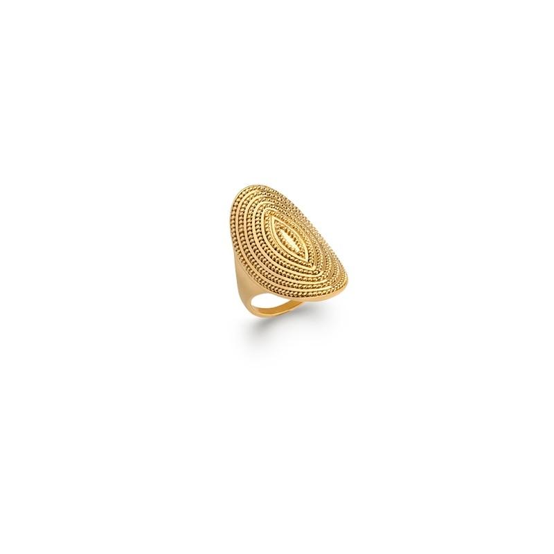 Δαχτυλίδι Brass Επίχρυσο 18Κ Oxford Street 2274400