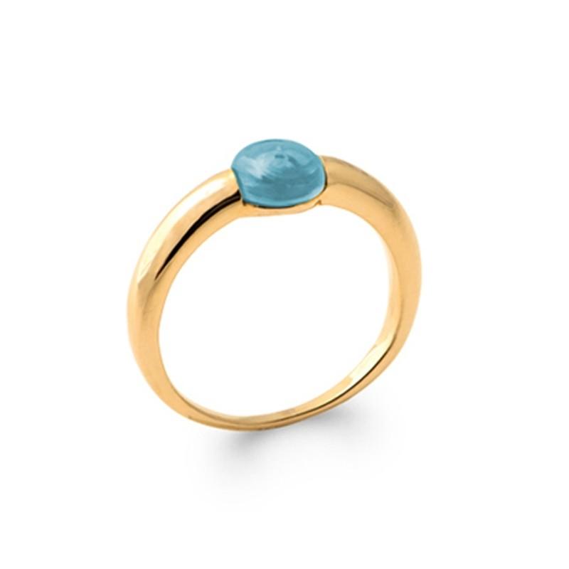 Δαχτυλίδι Brass Επίχρυσο 18Κ Oxford Street 2278760