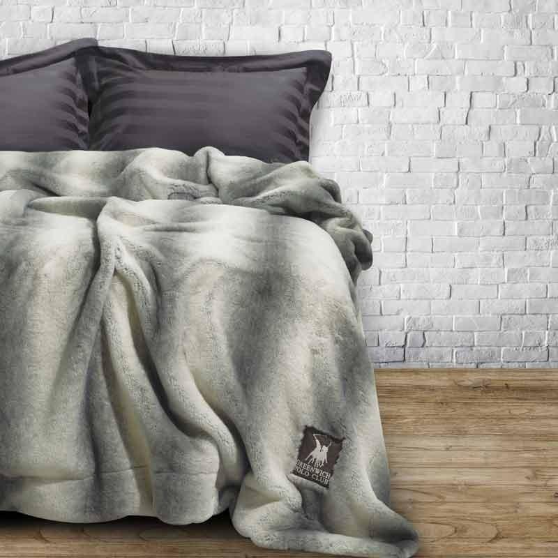 Κουβέρτα Faux Fur Υπέρδιπλη Greenwich Polo Club 2406