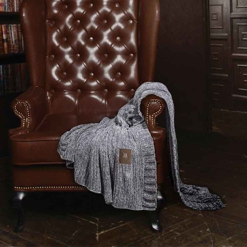 Κουβέρτα Καναπέ Chenille Greenwich Polo Club 2421