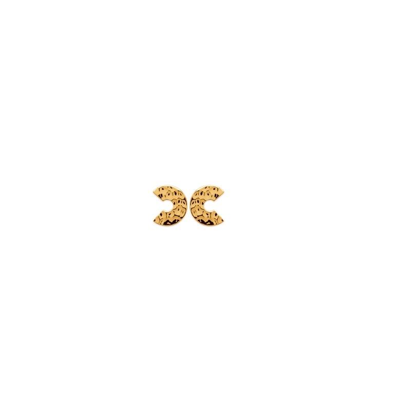 Σκουλαρίκια Brass Επίχρυσα 18Κ Oxford Street 2544400