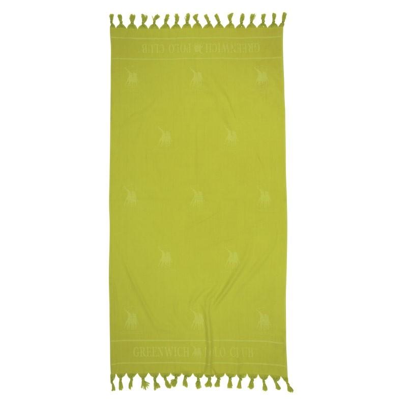 Πετσέτα Θαλάσσης Παρεό (90x170) Greenwich Polo Club 2819