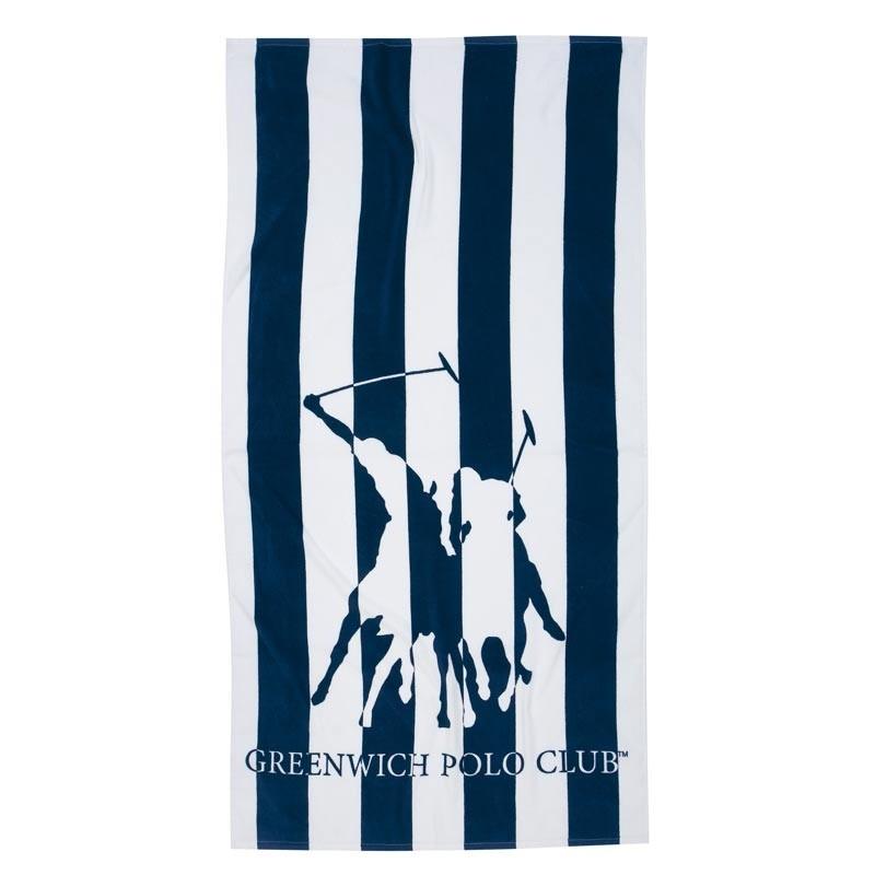Πετσέτα Θαλάσσης (80x160) Greenwich Polo Club 2823