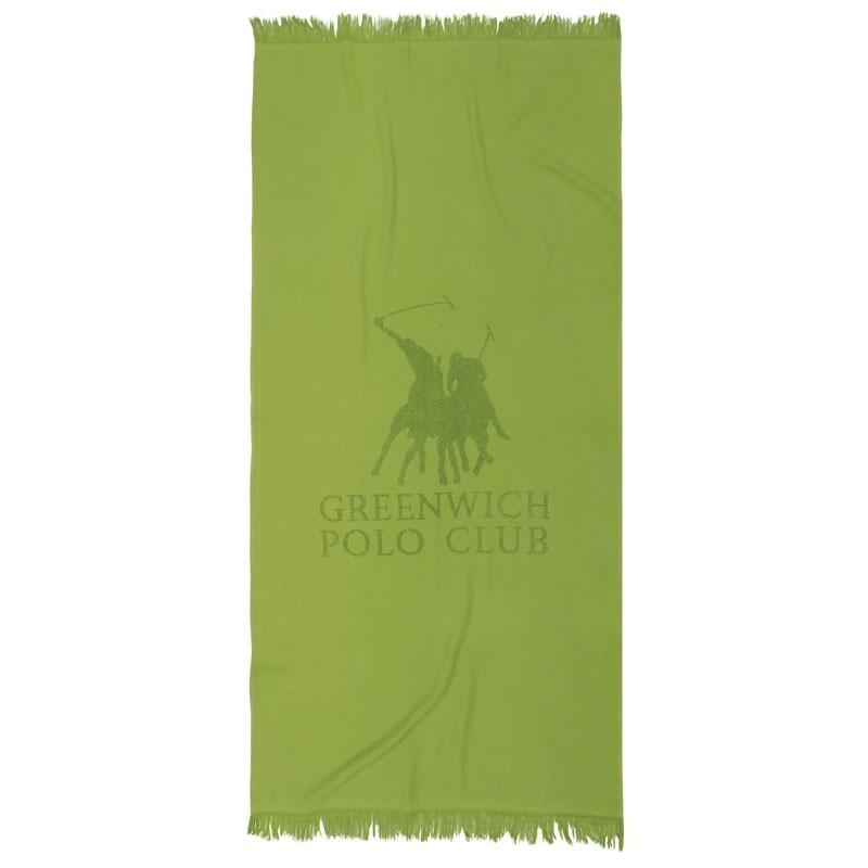 Πετσέτα Θαλάσσης Παρεό (80x170) Greenwich Polo Club Code 2828 ΛΑΧΑΝΙ