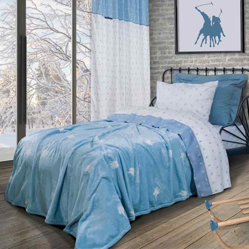 Κουβέρτα Παιδική Μονή Fleece Greenwich Polo Club 2904