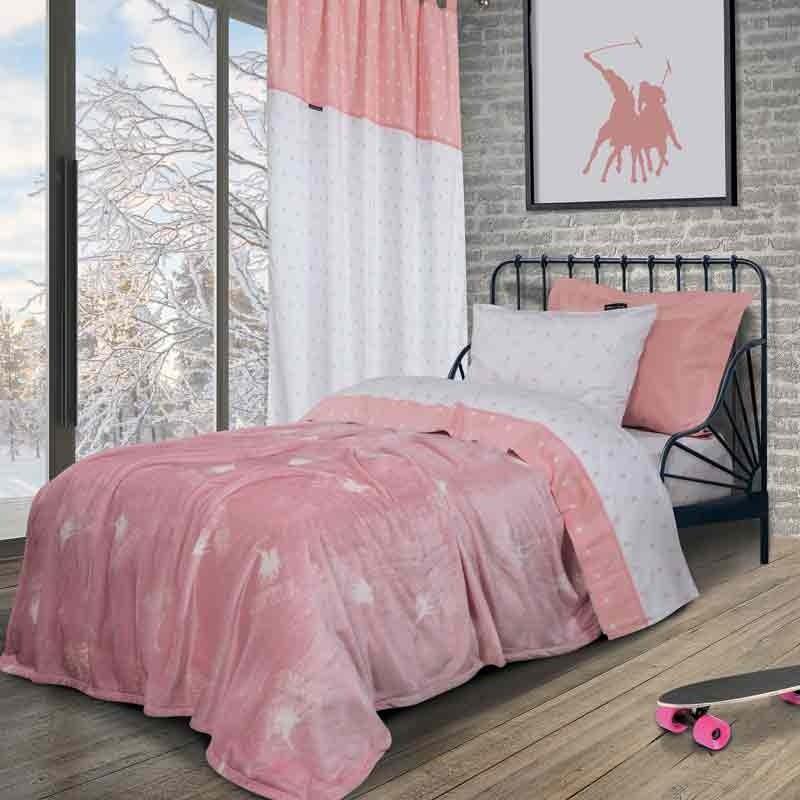 Κουβέρτα Παιδική Μονή Fleece Greenwich Polo Club 2905