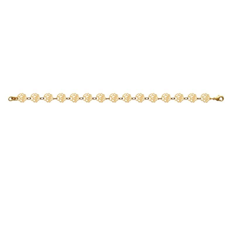 Βραχιόλι Brass Επίχρυσο 18Κ Oxford Street 29072
