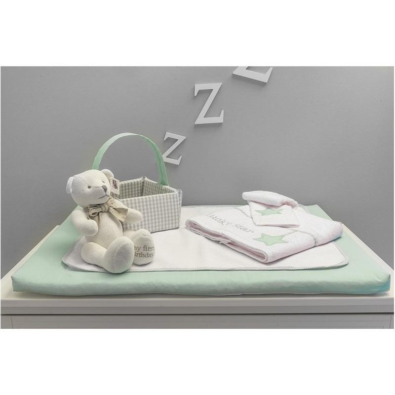 Βρεφική Αλλαξιέρας με σελτεδάκι Baby Oliver Lucky Star Design 304