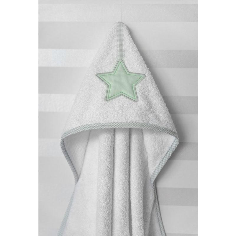 Βρεφική Κάπα Μπουρνουζάκι Baby Oliver Lucky Star Design 304