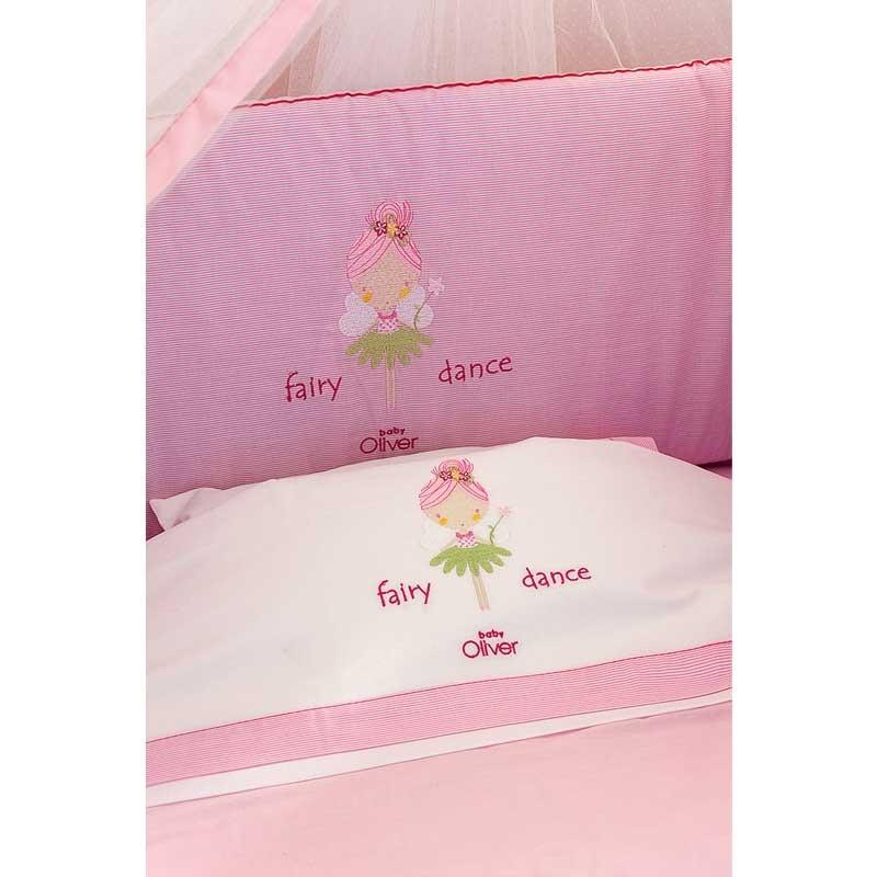 Σετ σεντόνια κούνιας βρεφικά Baby Oliver Fairy Dance Design 307