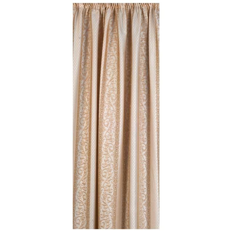Κουρτίνα με τρέσσα (145x270) Omega Home Curtains Collection Design 12471/221