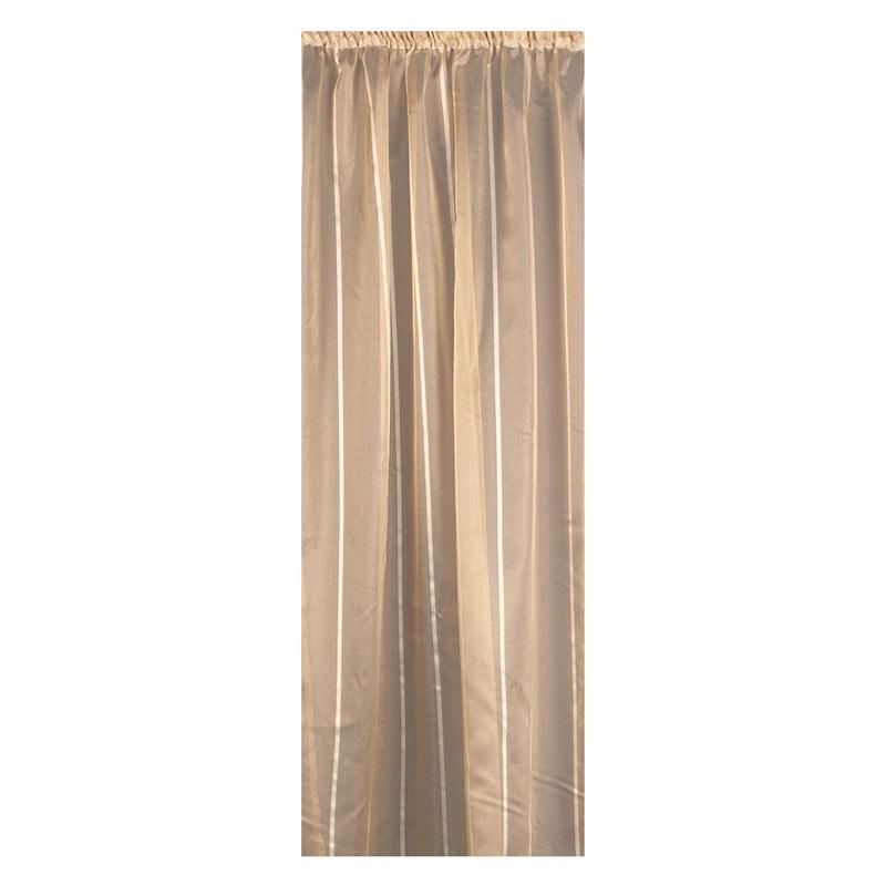 Κουρτίνα με τρέσσα (145x270) Omega Home Curtains Collection Design 12471/223