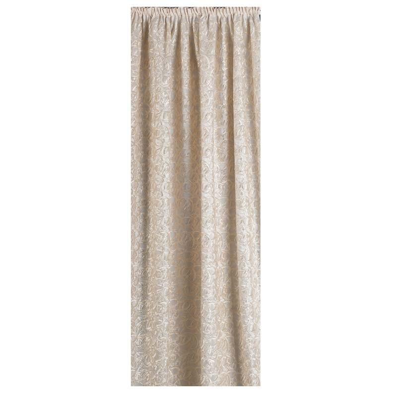 Κουρτίνα με τρέσσα (145x270) Omega Home Curtains Collection Design 12472/230