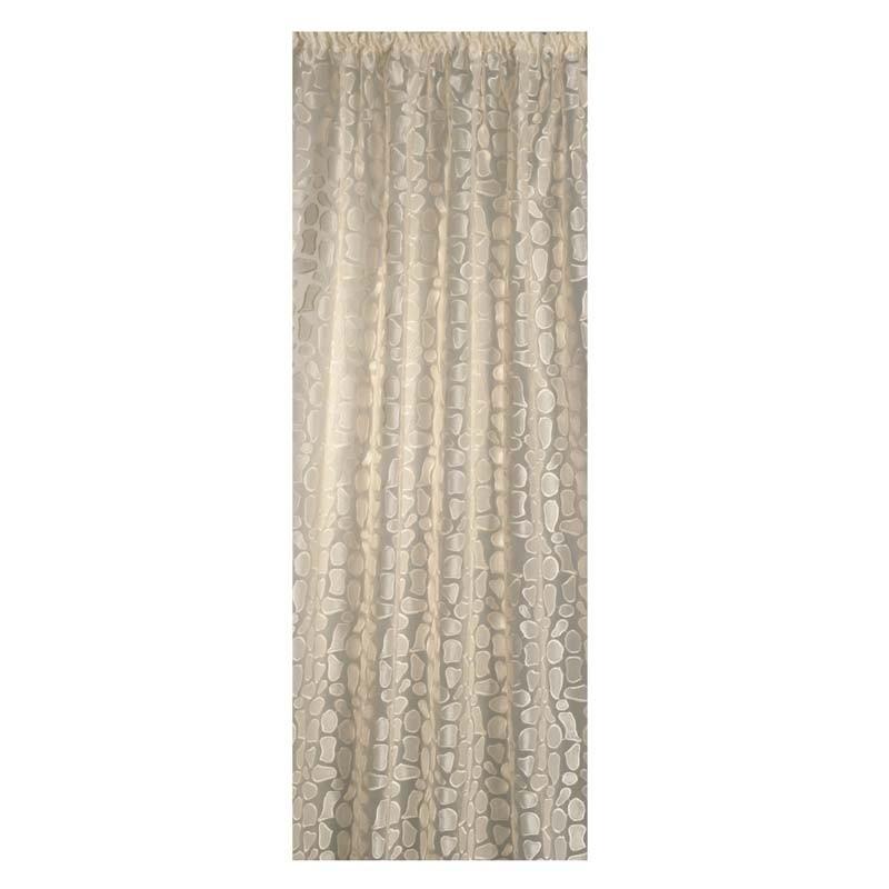 Κουρτίνα με τρέσσα (145x270) Omega Home Curtains Collection Design 12472/231