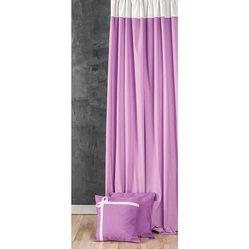Κουρτίνα με τρέσσα (145x270) Omega Home Curtains Collection Design 12473/141