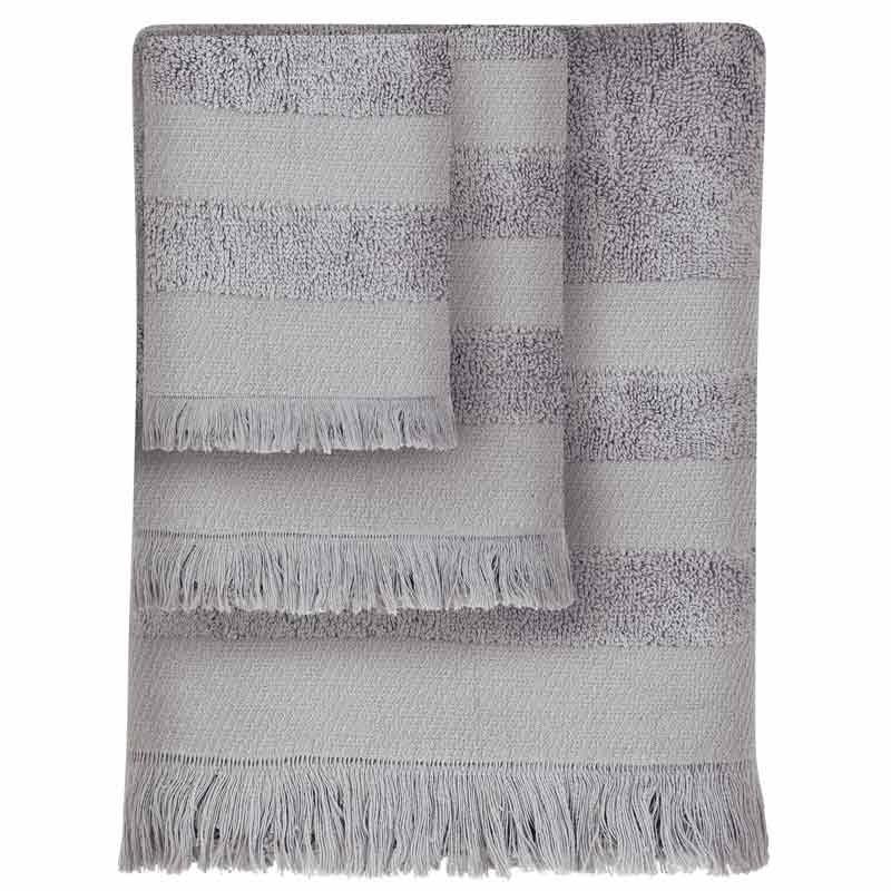 Σετ Πετσέτες 3τμχ Das Home Simple Line Towels Jacquard 348