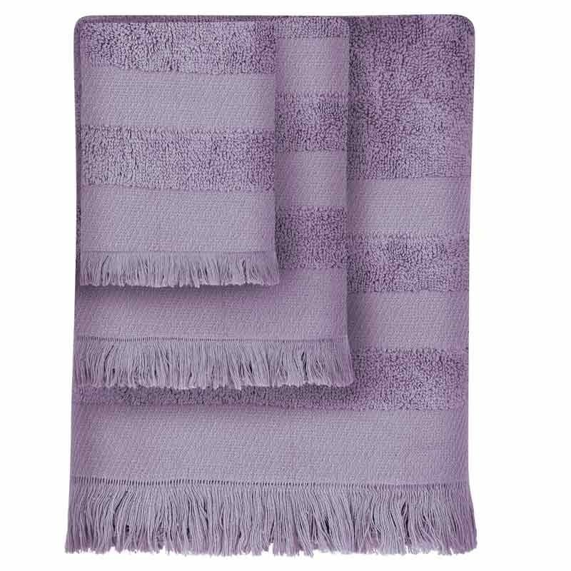 Σετ Πετσέτες 3τμχ Das Home Simple Line Towels Jacquard 349