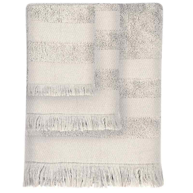 Σετ Πετσέτες 3τμχ Das Home Simple Line Towels Jacquard 350