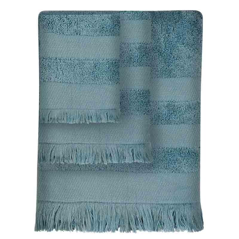 Σετ Πετσέτες 3τμχ Das Home Simple Line Towels Jacquard 351