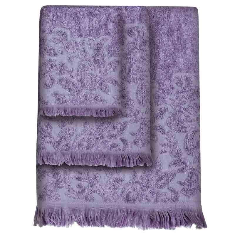Σετ Πετσέτες 3τμχ Das Home Simple Line Towels Jacquard 355