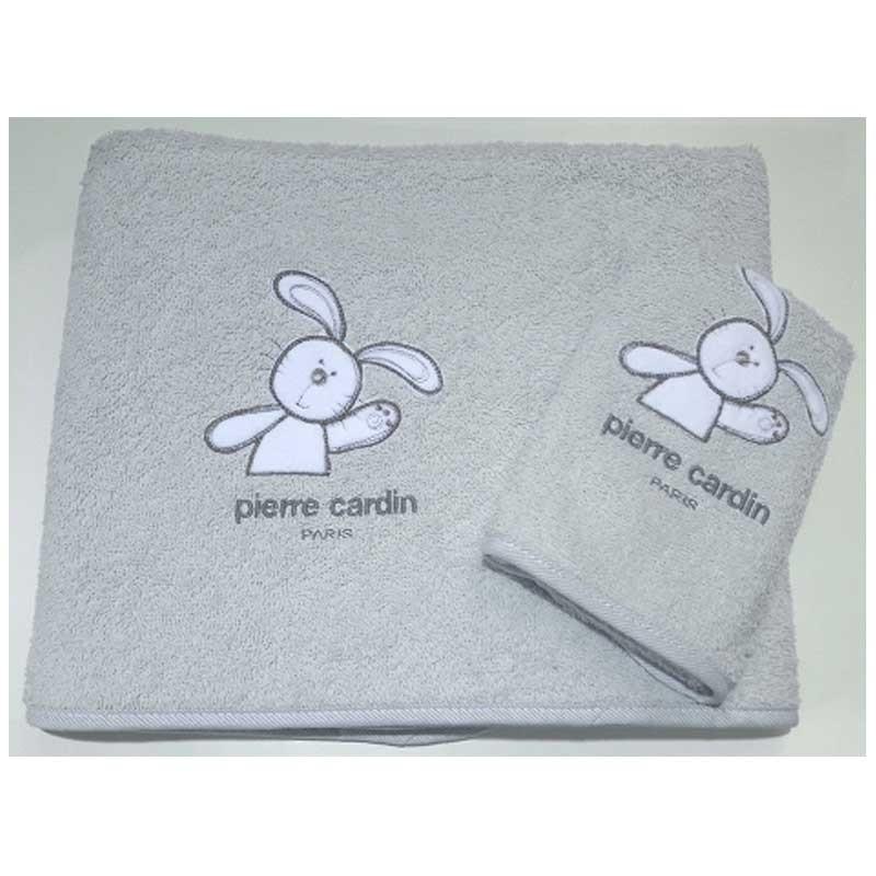 Σετ πετσέτες βρεφικές 2τμχ Pierre Cardin Design 127