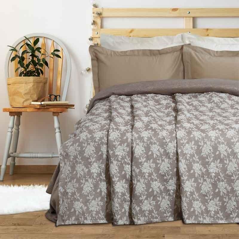 Κουβέρτα Καλοκαιρινή Υπέρδιπλη Ζακάρ Das Home Blanket Line 411