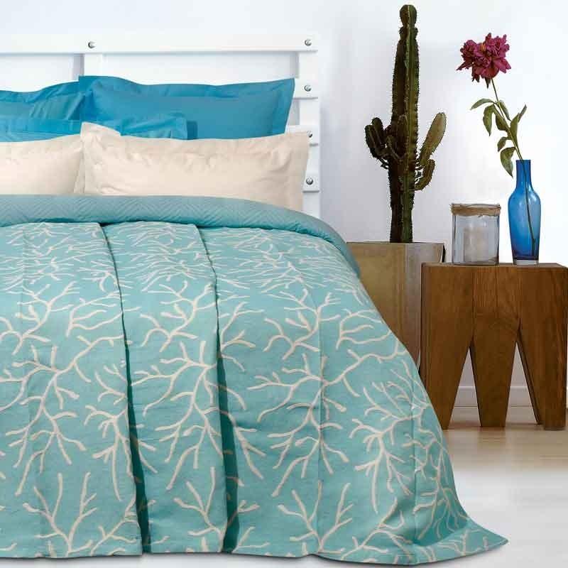 Κουβέρτα Καλοκαιρινή Υπέρδιπλη Ζακάρ Das Home Blanket Line 414