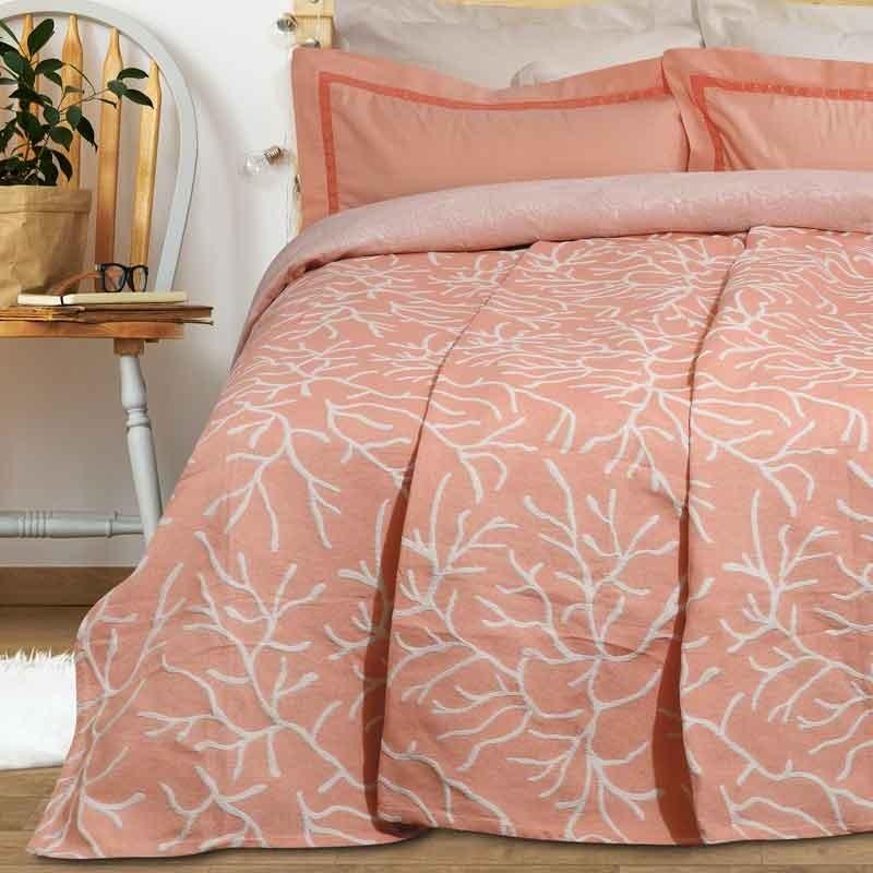 Κουβέρτα Καλοκαιρινή Υπέρδιπλη Ζακάρ Das Home Blanket Line 417