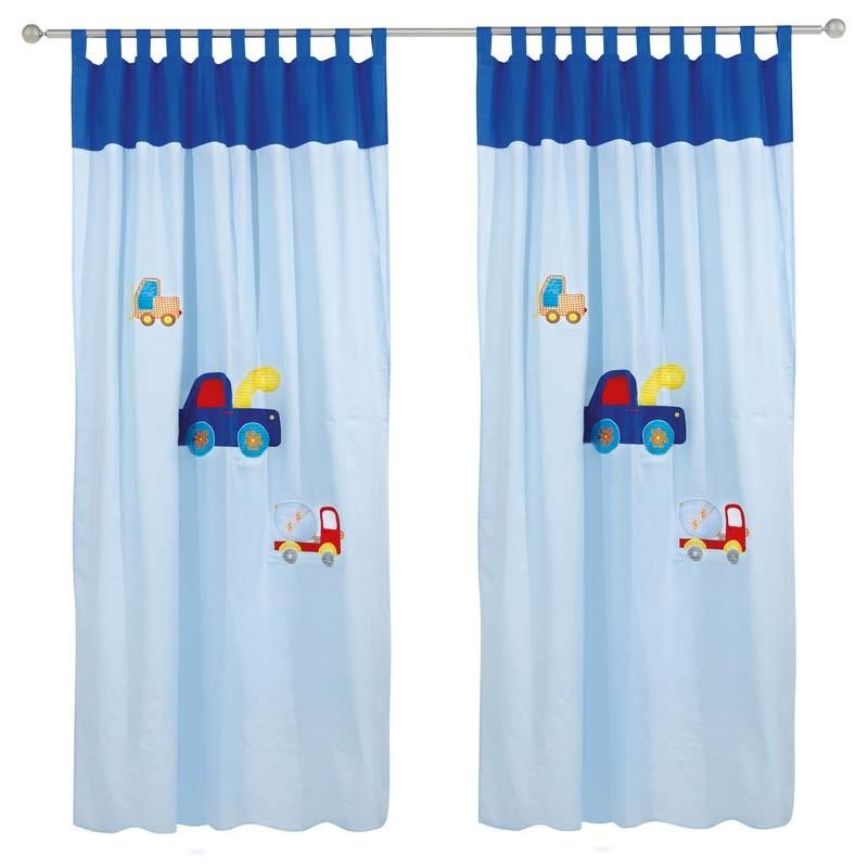 Κουρτίνα Παιδική με Θηλιές (140x260) Das Home Curtain Line Prints 2110