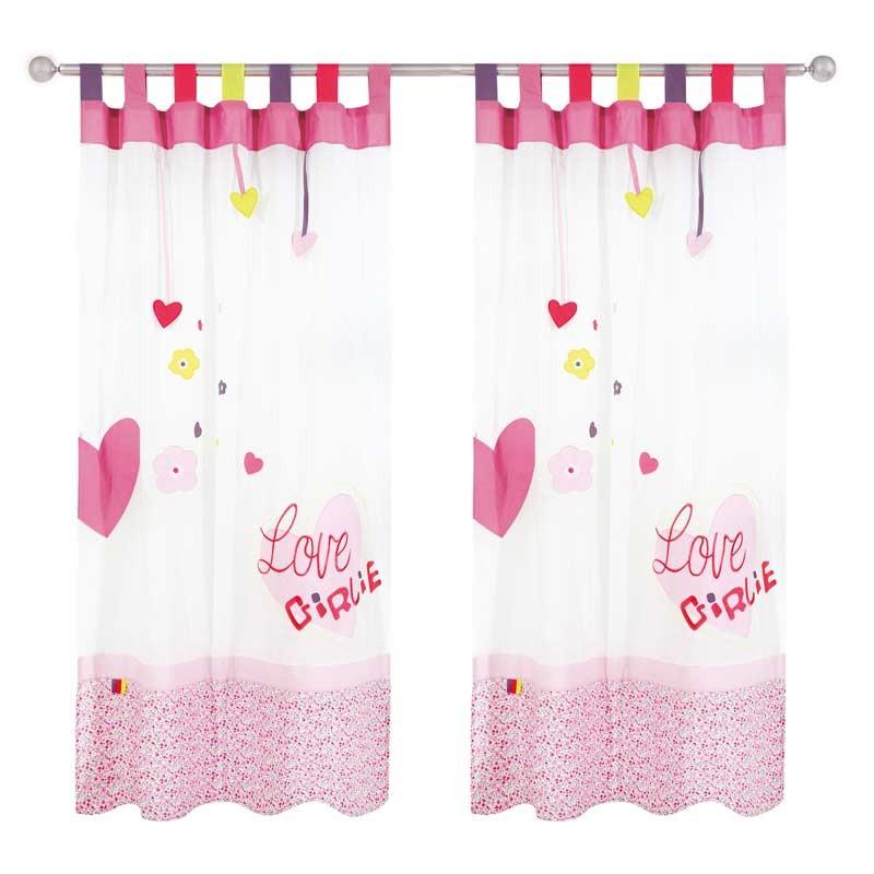 Κουρτίνα Παιδική με Θηλιές (140x260) Das Home Curtain Line Prints 2124