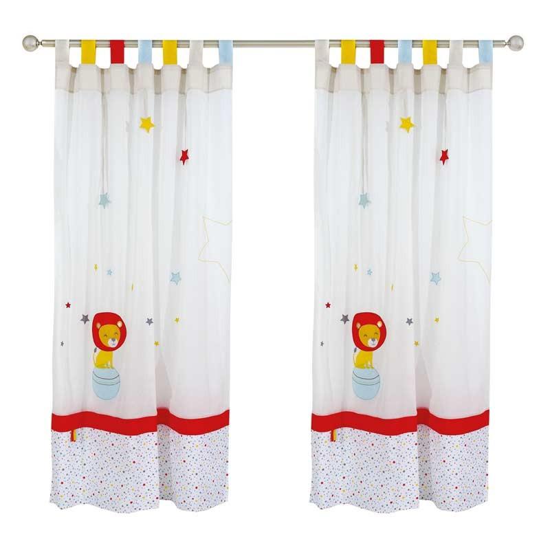 Κουρτίνα Παιδική με Θηλιές (140x260) Das Home Curtain Line Prints 2125