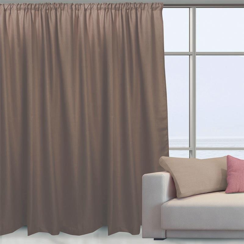 Κουρτίνα Με Τρέσα Das Home Curtain Line Colours 2041