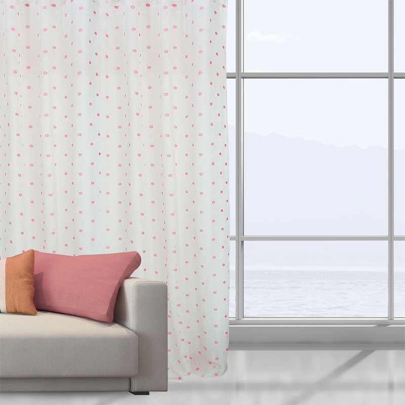 Κουρτίνα Με Τρέσα Das Home Curtain Line Jacquard 2042