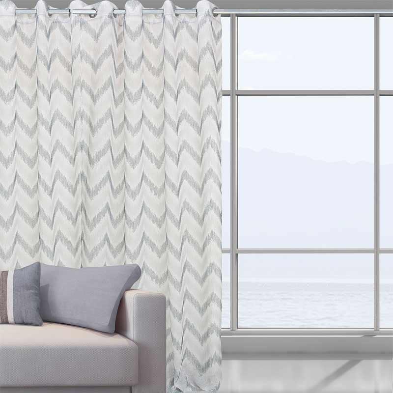 Κουρτίνα Με Τρέσα Das Home Curtain Line Jacquard 2044