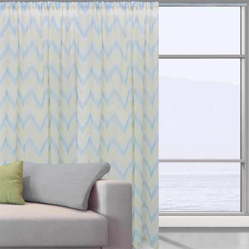 Κουρτίνα Με Τρέσα Das Home Curtain Line Jacquard 2045
