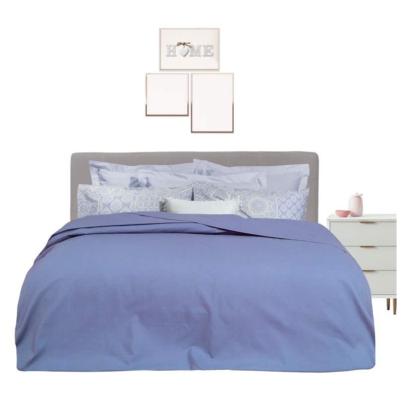 Κουβέρτα Πικέ Υπέρδιπλη Das Home Blanket Line 350