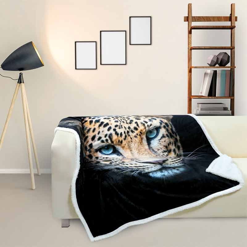 Κουβέρτα Fleece Αγκαλιάς Das Home Blanket Line Fleece Digital Printed Sofa 368