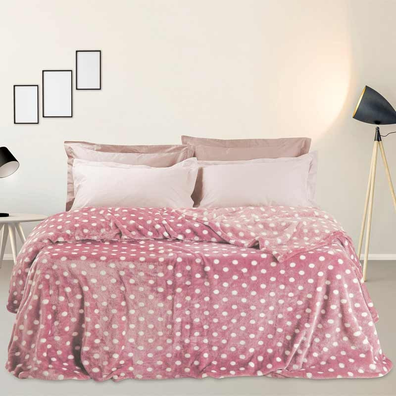 Κουβέρτα Fleece Υπέρδιπλη Das Home Blanket Line Fleece Prints Supersoft 333