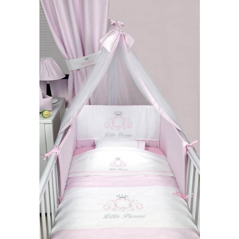 Σετ Κούνιας 3τμχ Baby Oliver Little Princess Design 322 46-6700/322