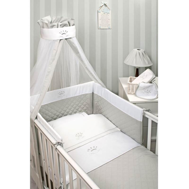 Σετ Κούνιας 2τμχ Baby Oliver Royal Grey Design 331 46-6700/331