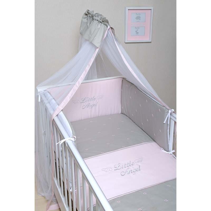 Σετ Κούνιας 3τμχ Baby Oliver Little Angel Somon Design 336 46-6700/336
