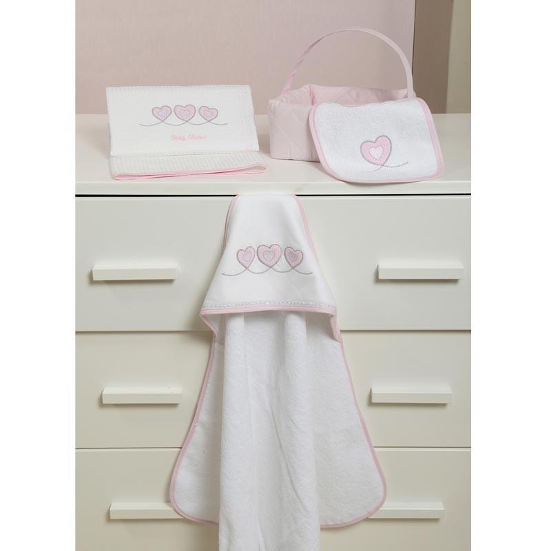 Βρεφική Κάπα Μπουρνουζάκι Baby Oliver Design 332 46-6730/332