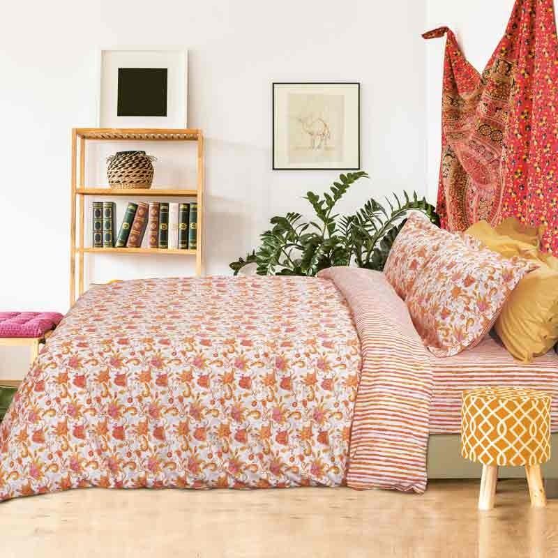 Σετ Σεντόνια Υπέρδιπλα Das Home Best Line Prints 4631