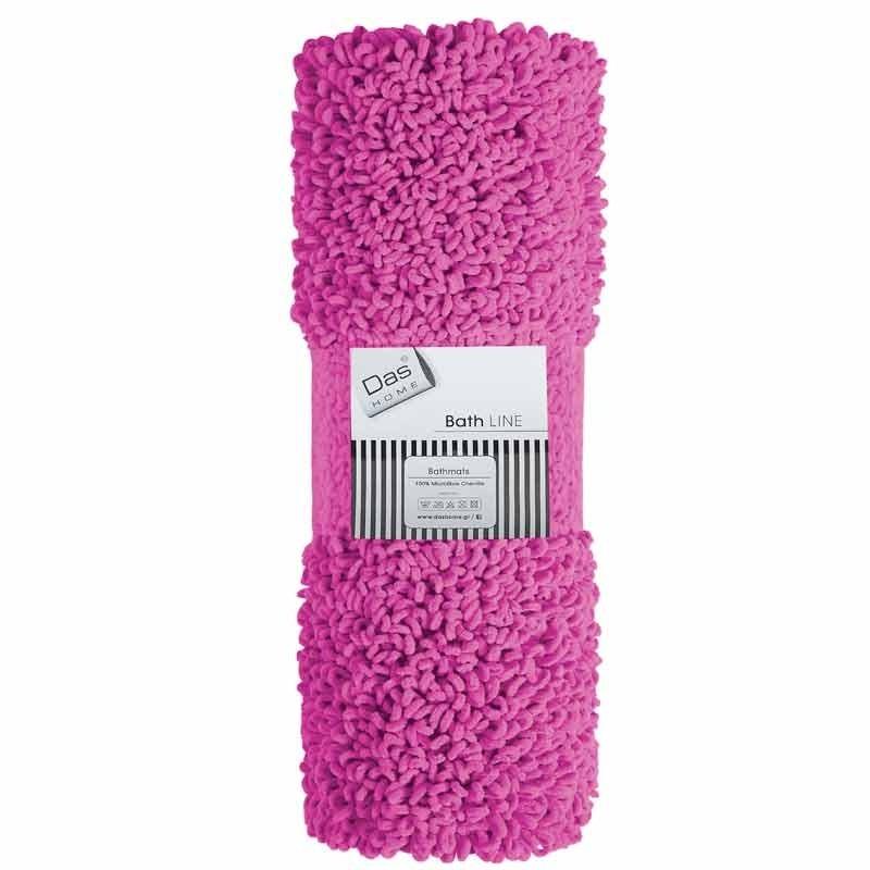 Πατάκι Μπάνιου (50x70) Das Home Bathmats Microfibre Cenille 474