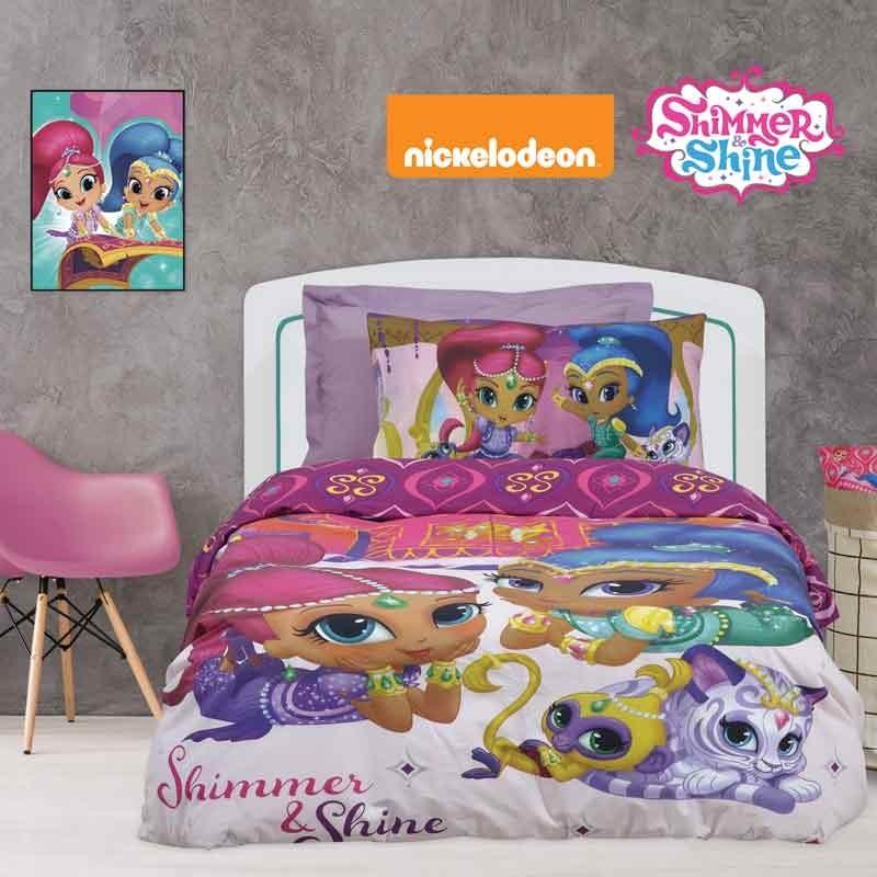 Σετ Σεντόνια Παιδικά Μονά Das Home Shimmer & Shine 5001