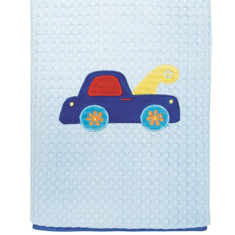 Βρεφική Κουβέρτα κούνιας Πικε 110x150cm Das home  baby Dream Embroidery 6393