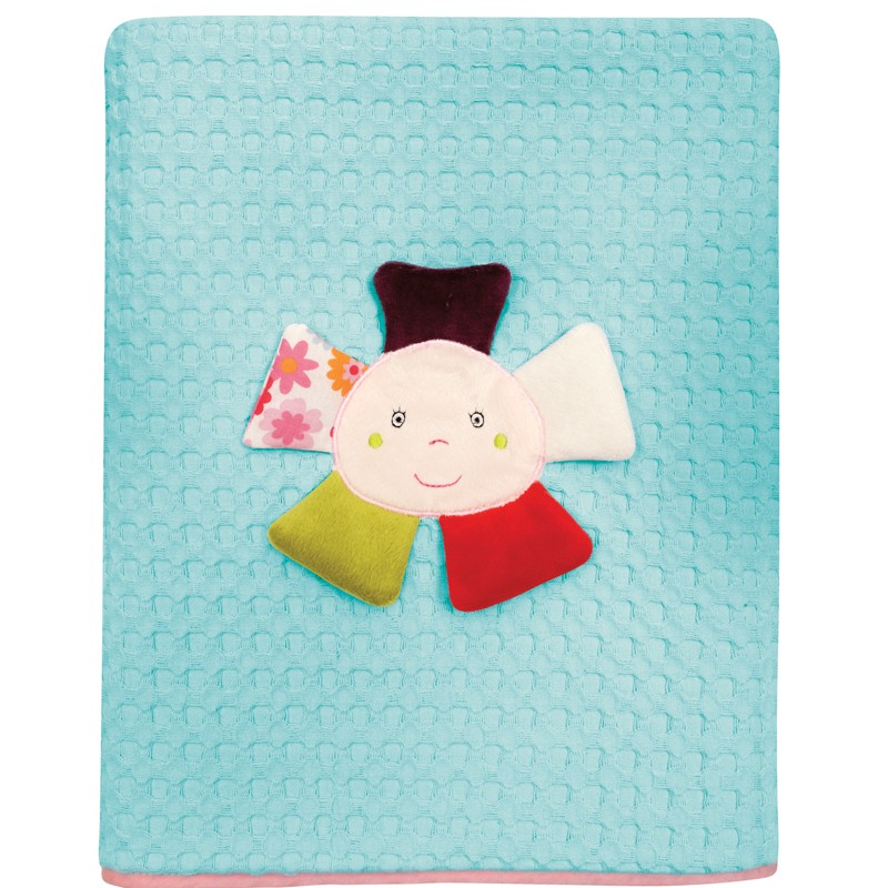 Βρεφική Κουβέρτα κούνιας Πικε 110x150cm Das home  baby Dream Embroidery 6396